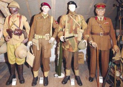 Patchs uniformes de la seconde guerre mondiale